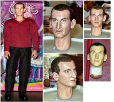 Ninth Doctor by tovie