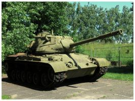 M47 Patton by WormWoodTheStar