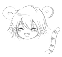 Dino the Tiger XD by Chibi-Kiki-chan