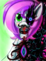 Dark Side of Lavender Flower by BlazeHart96