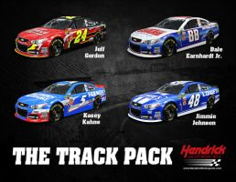 Hendrick Motorsports Poster by WinstonCup426