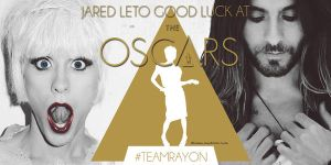 Twitterheader Goodluck Jared Leto At The Oscar by lovelives4ever
