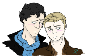 REQUEST: JohnLock by GreenedDespair