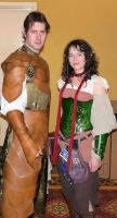 Me and Laura Midsouthcon 2009 by mbielaczyc
