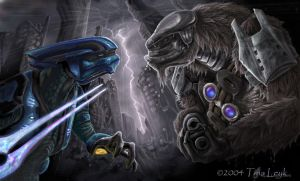 Elite vs Brute: Pre-Halo2 by jaxxblackfox