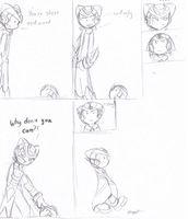 Request Comic: Ryu by SmilehKitteh