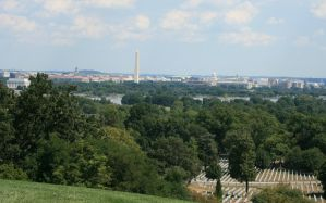 DC View from Arlington by Kippenwolf