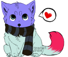100 Themes - Scarf Pup Adopt - Adopted by Feralx1