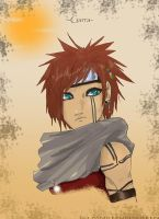 Gaara...... by MoreSunScreen