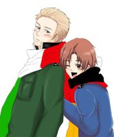 APH: germany x italy by sirohikari