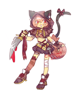Halloween Adopt 2 - Closed by ChitChatCafe