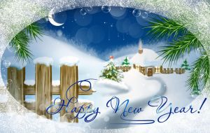 Postcards from the New Year. by Tumana-stock