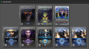 StarCraft Series by GameBoxIcons