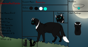 Ravenstar Reference Sheet by Evertooth