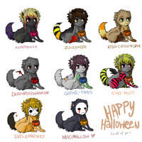 HAPPY HALLOWEEN - gifts by MadMallow