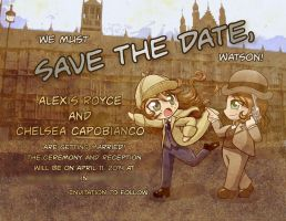 Save the Date! by AlexisRoyce