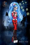 Monster High - Ghoulia Yelps by kharis-art