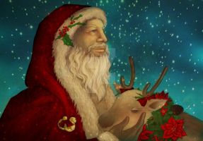 Father Christmas by OrangeCurl