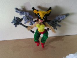 Hawkgirl by fuzzyfigureguy
