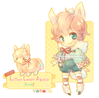 :NEMU: Cotton Candy Alpaca [MINE] by Chuuchichu
