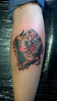 tasmanian devil by SupremeTattoo