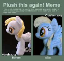 Plush this again Derpy by Chibi-pets