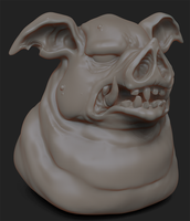 Momma Pig - 60-Minute Practice Sculpt by GaryStorkamp