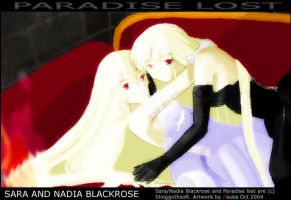 Paradise Lost -Blackrose Twins by asuchan