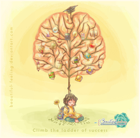 Climb the ladder of success by Beautiful-feeling