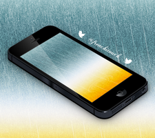 Rain wallpaper by frenchitouch