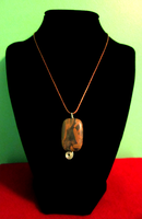 Brown Gemstone Choker by BloodRed-Orchid