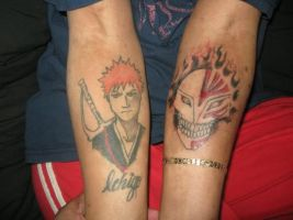Ichigo Tattoos by BleachOD
