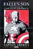 Captain America  sketch cover by mdavidct