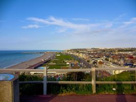 Awesome view of Dieppe by TheossFX