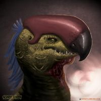 The Cropalima (Scary Birds) by FlorieInk