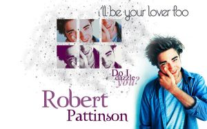 Robert Pattinson Wallpaper by lupattz
