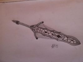 homemade fantasy weapon by FFF13
