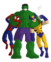 Hulk N Freinds by ShadowMaginis