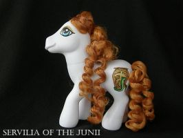 Servilia of the Junii by eosthilas