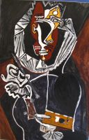 Picasso 'Portrait of a Painter (El Greco)' by artisticpig