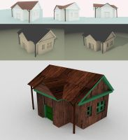 My first 3d House by Anouska