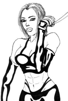 bondage chica by tripsta