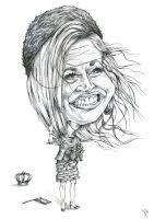 caricature Maxima by Rpriet1
