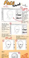 Face Tutorial by Black-Curls