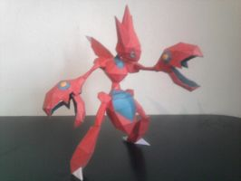 scizor papercraft by rafex17