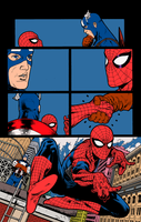 A Spider Man annual 37 page21 by PauloSiqueira Fla by carloscamposart