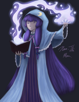 Touhou - Touhouvania Patchouli (color) by Shadow-of-Mysteries