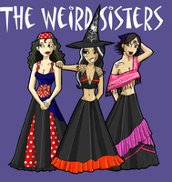 weird sisters by blastedgoose