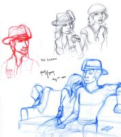 TtS - Sketches 1 by leighanief