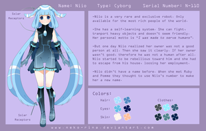 Niio Reference Sheet by Neko-Rina